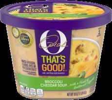O That's Good Broccoli Cheddar Soup 16 oz Tub