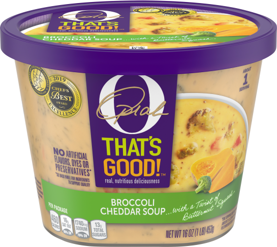 O That's Good Broccoli Cheddar Soup 16 oz Tub