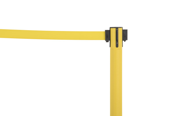 Sentry Stanchion - Yellow with Yellow belt 4