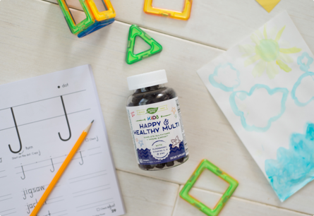 A Complete Multivitamin with Added Immune Support for Kids 2+ *