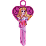 Disney Sleeping Beauty - Heart Shaped Aurora Key Blank