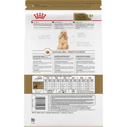 Poodle 8+ Adult Dry Dog Food