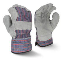 Radians RWG3111 Economy Shoulder Gray Split Leather Glove