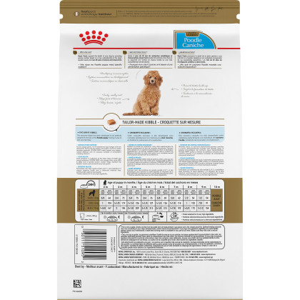 Poodle Puppy Dry Dog Food