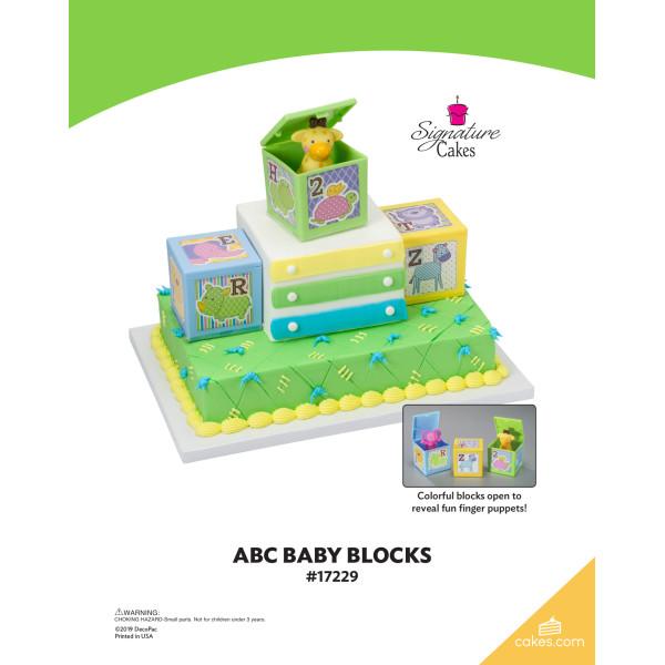 ABC Baby Blocks Signature DecoSet® The Magic of Cakes® Page