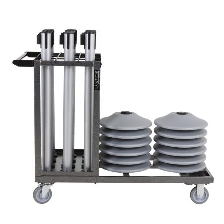 Statesman Cart Bundle - Silver Steel 8