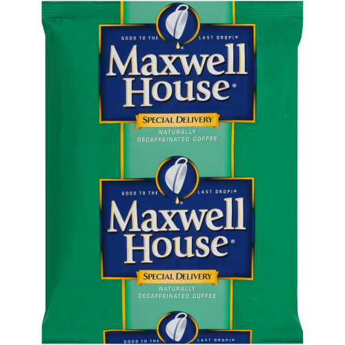 MAXWELL HOUSE Special Delivery Decaffeinated Coffee, 1.3 oz. Packets (Pack of 42)