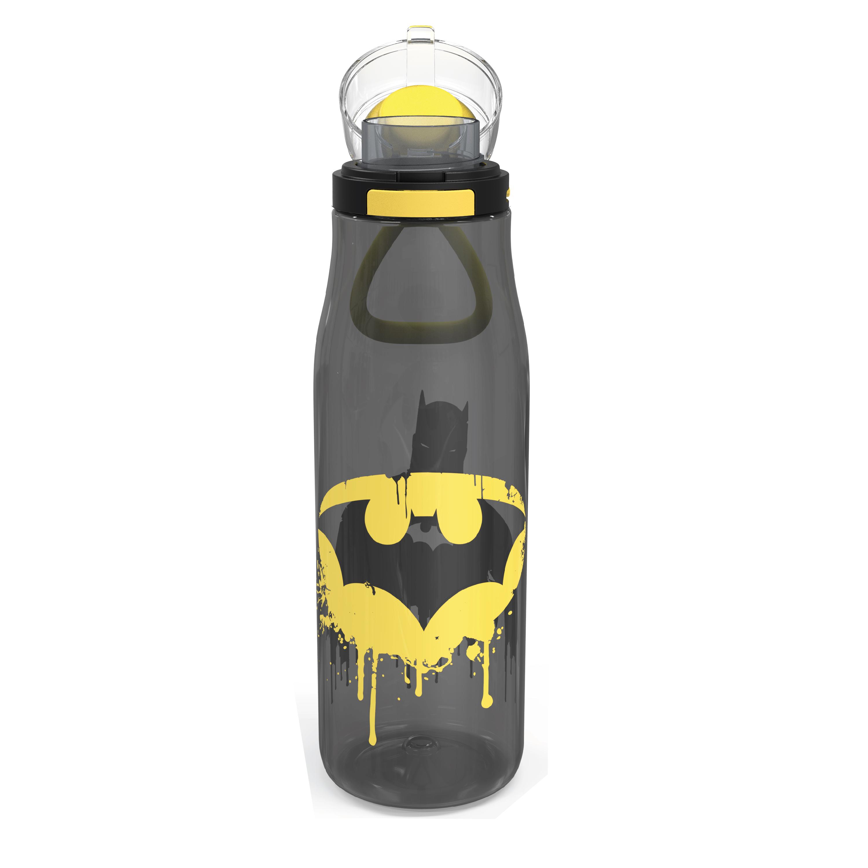 DC Comics 25 ounce Water Bottle, Batman, 3-piece set slideshow image 3