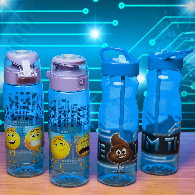 Emoji Movie 25 ounce Water Bottle, Emoticons slideshow image 3