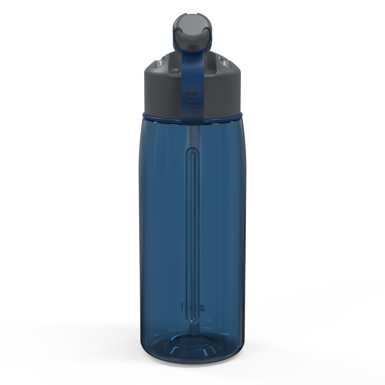 Genesis 32 ounce Water Bottle, Indigo slideshow image 7