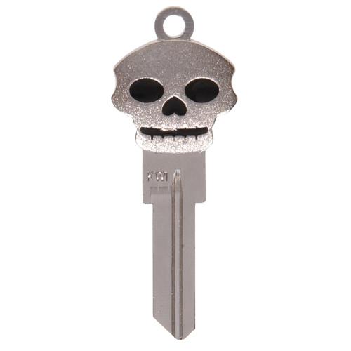 Silver Skull 3D Key - KW1/66