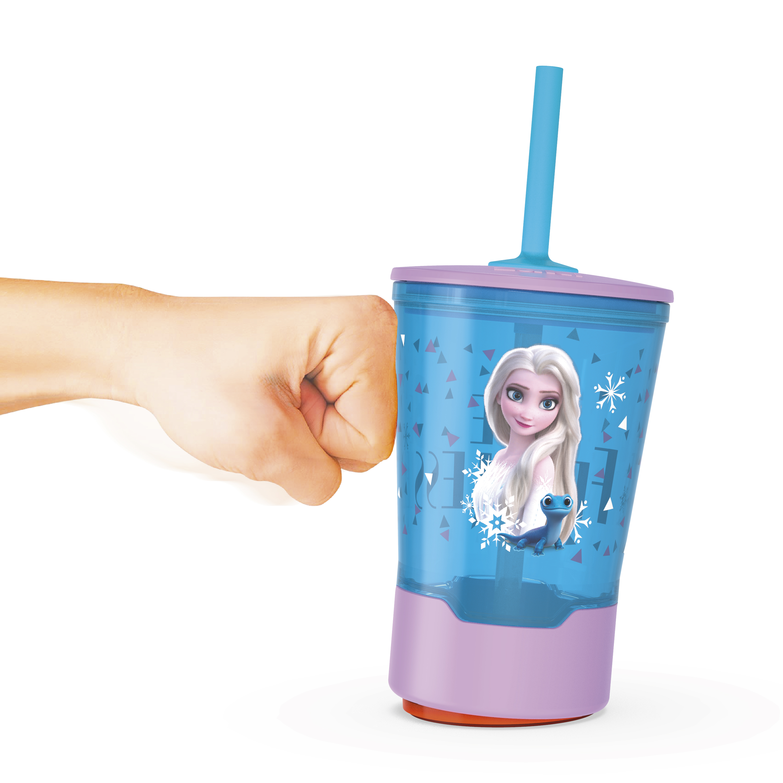Disney Frozen 2 Movie 16 ounce Mighty Mug Tumbler with Straw, Princess Elsa slideshow image 1