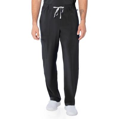 Urbane Performance Four-Pocket Cargo Scrub Pants for Men: Modern Tailored Fit, Tapered Leg Medical Scrub Pants 9254-