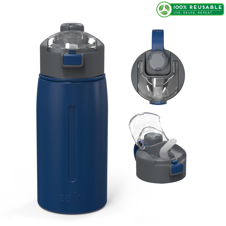 Genesis 18 ounce Vacuum Insulated Stainless Steel Tumbler, Indigo slideshow image 1
