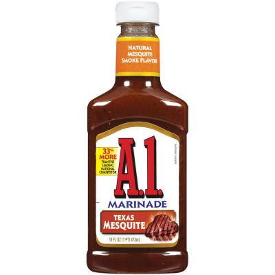 A.1. Texas Mesquite Steakhouse Marinade 16 fl oz Squeeze Bottle