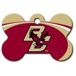 Boston College Eagles Large Bone Quick-Tag