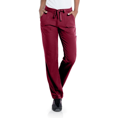 Urbane Ultimate 5 Pocket Scrub Pant for Women: Contemporary Slim Fit, Luxe Soft Stretch Fabric, 50/50 Waist, Medical Scrubs 9306-Urbane