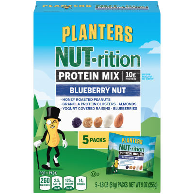 Planters NUT-rition Blueberry Nut Protein Mix 9 oz Box