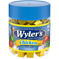 Wyler's Chicken Instant Bouillon Cubes 3.25 oz Jar