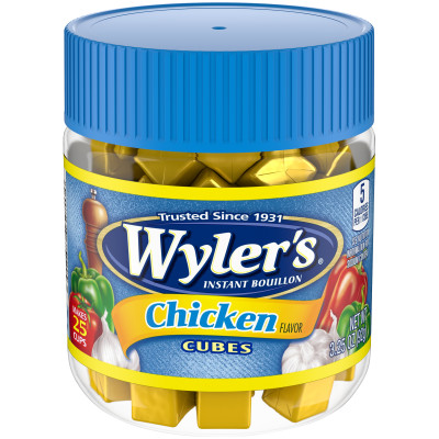 Wyler's Chicken Bouillon Cubes 3.25 oz Jar