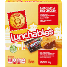 Lunchables Around The World Asian Style BBQ Chicken 3.7 oz Tray