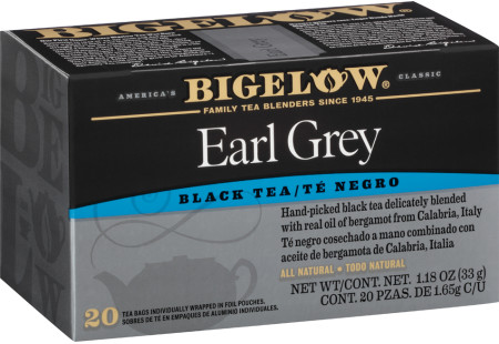 Te Earl Grey - Case of 6 boxes- total of 120 teabags