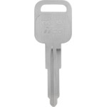 GM Brass Auto Key Blank B-53