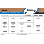 Class 10.9 Metric Flange Bolts & Nuts Assortment (M10-1.50 Thread)