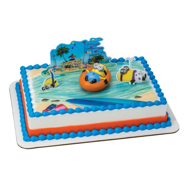 Despicable Me 2™ Beach Party PhotoCake® Edible Image® DecoSet® Background