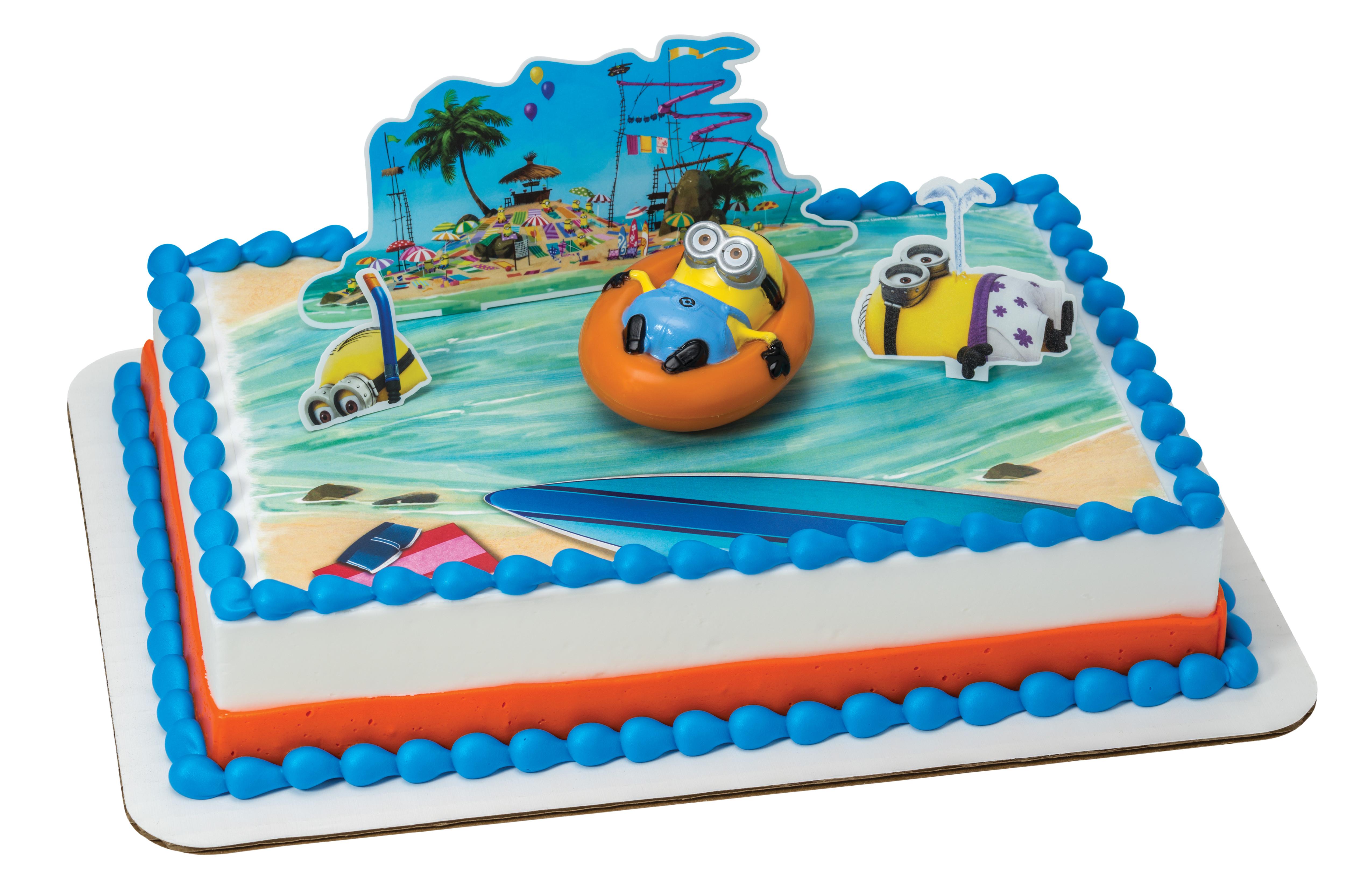 Despicable Me Beach Party Decoset 174 Decopac