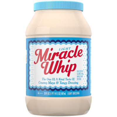 Miracle Whip Light Dressing 30 fl oz Jar