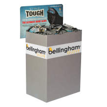 Bellingham Nitrile TOUGH® Glove Half Bin