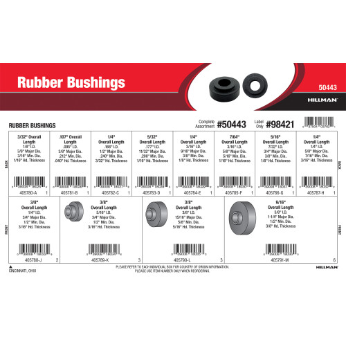 Rubber Bushings Assortment