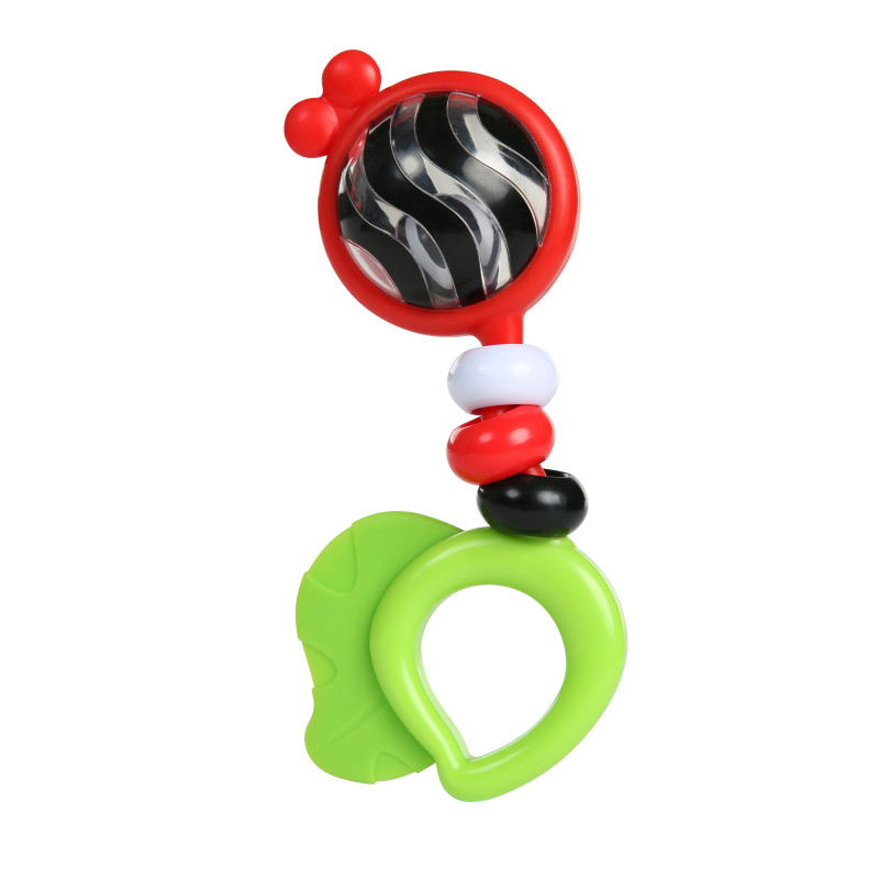 Bright Bold Rattle & Teether™ High Contrast Toy