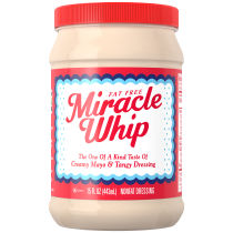 KRAFT MIRACLE WHIP Dressing Fat Free 15 fl oz Jar