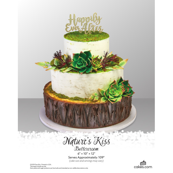 Nature's Kiss Buttercream Wedding The Magic of Cakes® Page