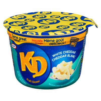 Kraft Dinner White Cheddar Macaroni & Cheese Snack Cups