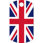 Union Jack Small Military ID Quick-Tag