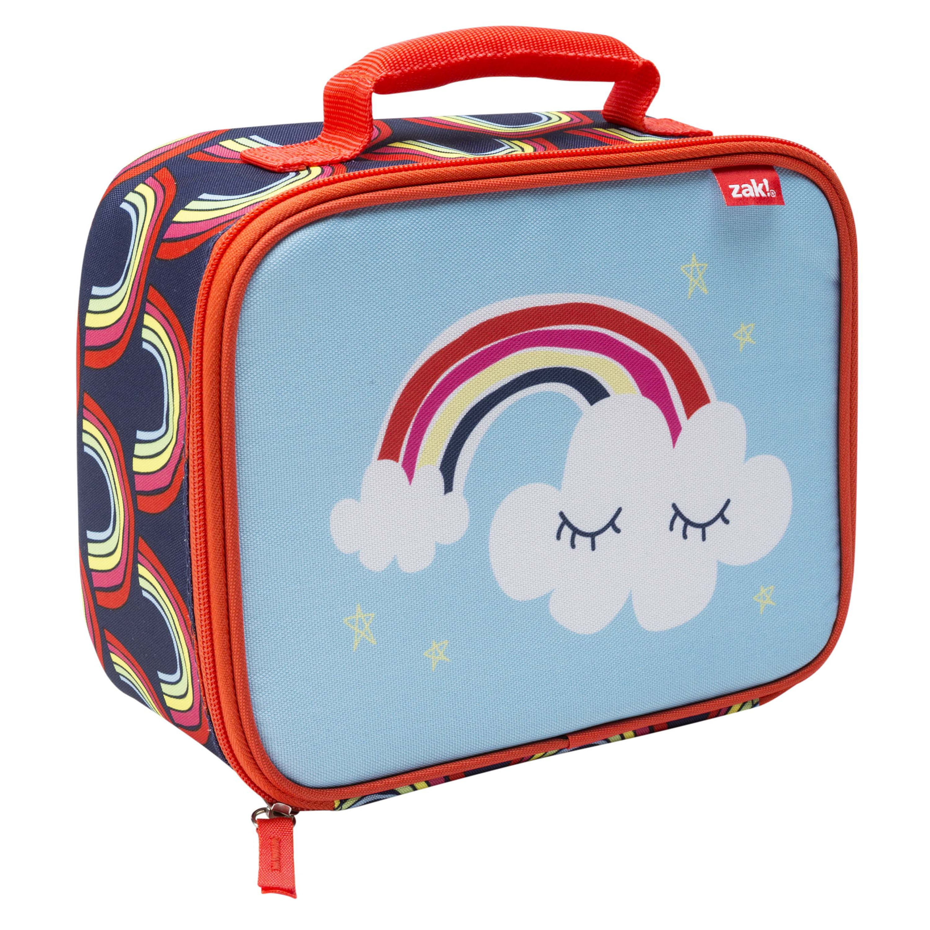 Happy Things Insulated Reusable Lunch Bag, Clouds slideshow image 3
