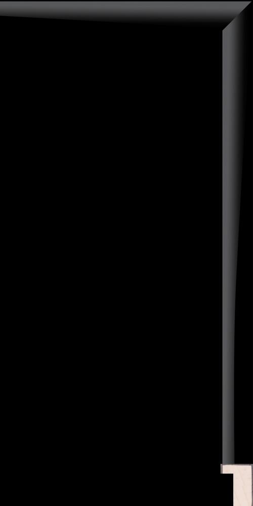Bauhaus Black 3/4