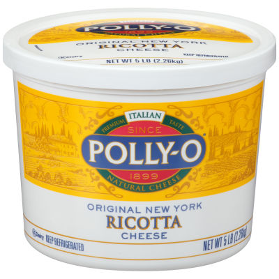 Polly-O Ricotta Cheese 80 oz Tub
