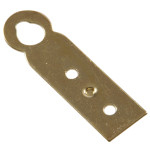 Hardware Essentials Brass Plated Hanger Plate