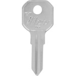 Gas Cap Brass Auto Key Blank 1611 GAS CAP Key