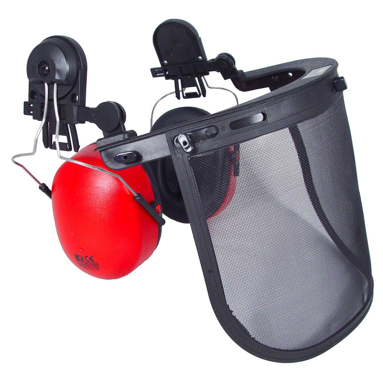 Radians Cap Adapter - Wire Mesh Visor & Cap Mount Earmuff