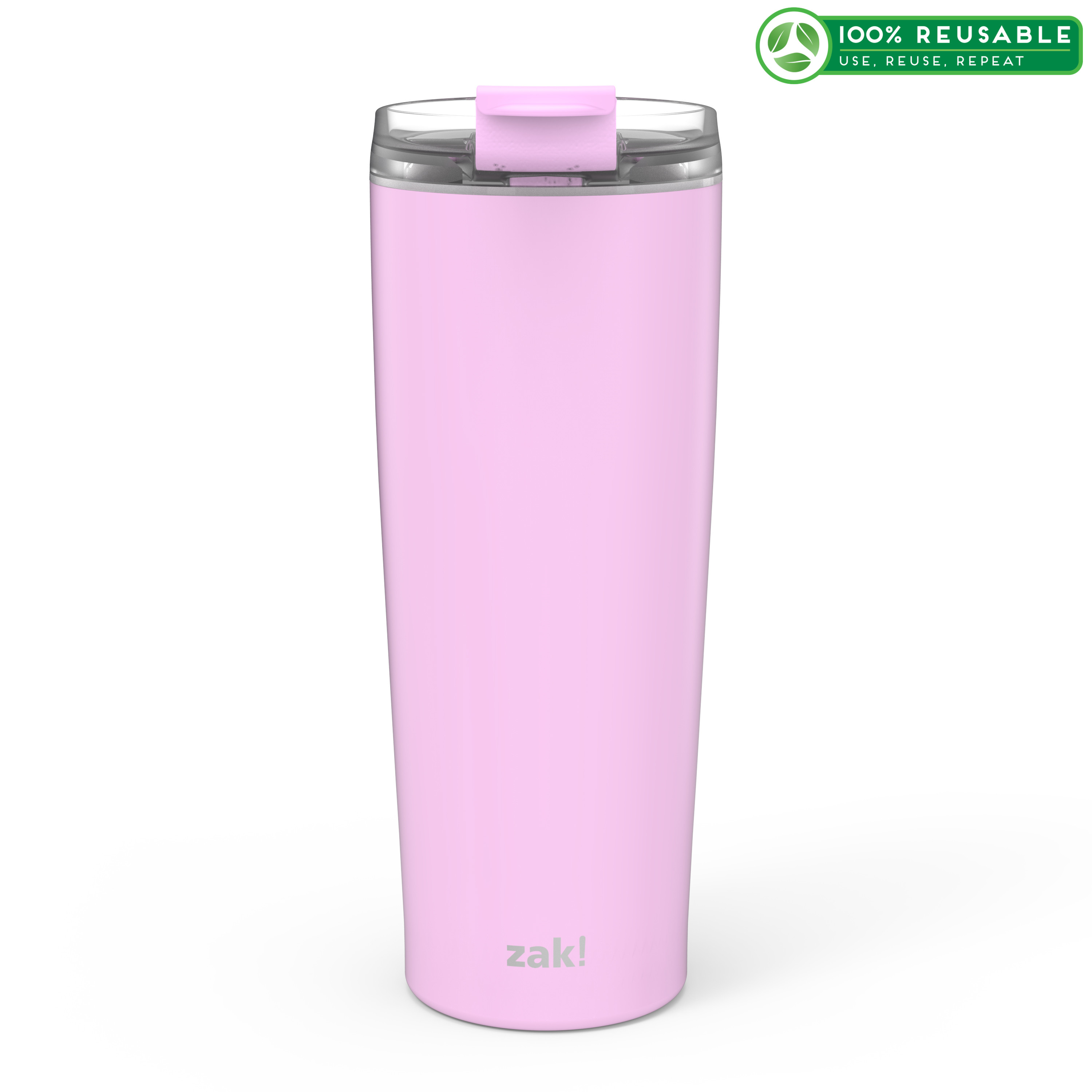 Aberdeen 24 ounce Vacuum Insulated Stainless Steel Tumbler, Lilac slideshow image 1
