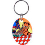 Garfield Lasagna Key Chain