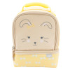 Soft Lines 2-compartment Reusable Insulated Lunch Bag, Bunnies slideshow image 2