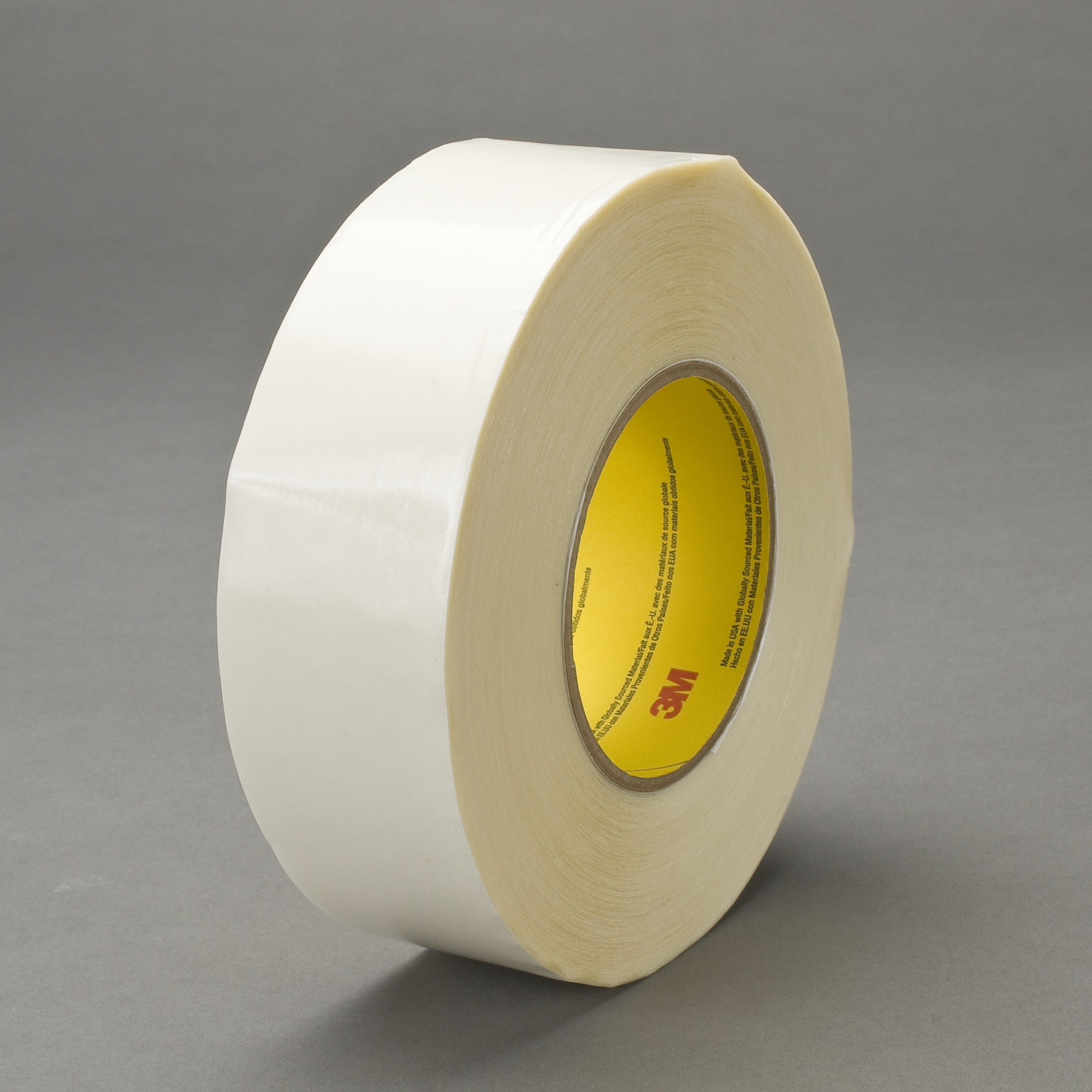 3M™ Double Coated Tape 9741, Clear, 72 mm x 55 m, 6.5 mil, 16 rolls per case