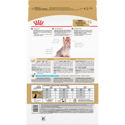 Royal Canin Breed Health Nutrition Yorkshire Terrier Adult 8+ Adult Dry Dog Food
