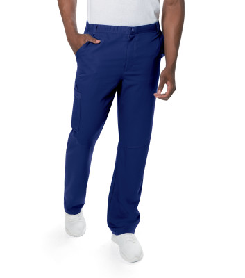 Urbane Ultimate Elastic Waist 7 Pocket Scrub Pants for Men 9152-Urbane